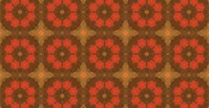 Kaleidoscope Vintage Pattern