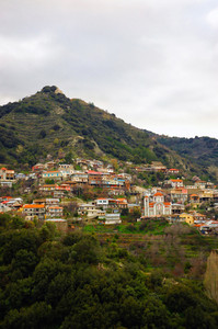 Kalopanayiotis  Village At Troodos Mountains
