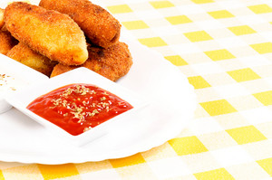 Ketchup And Potato