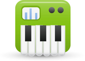 Keyboard Lite Media Icon