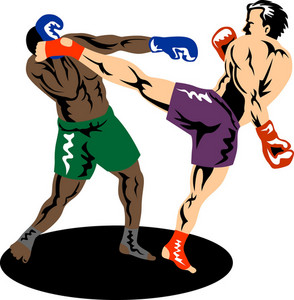 Kickboxer Side Kick