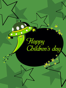 Kiddish Concept Background For Children's Day