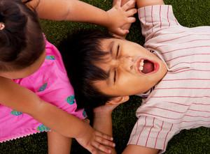 Kids Having Fun Playing