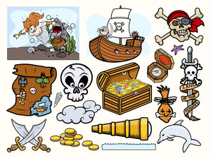 Kids Vectors - Pirate