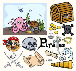 Kids Vectors - Treasure Hunt