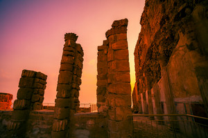 King Herod Masada fortress ruins