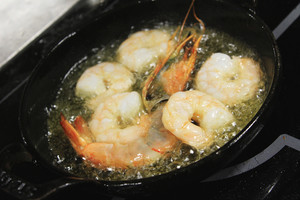 King Prawn And Scallops With Sweet Chili Sauce