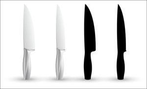 Knife Vector Shapes
