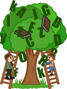 Knowledge Tree - Office Character Vectors