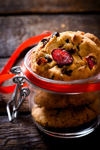 Sweet Cranberry Cookies