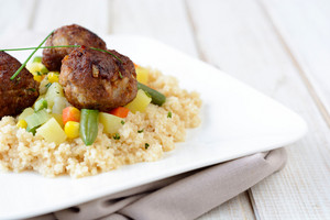 Couscous And Meatballs