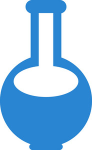 Laboratory Flask Simplicity Icon