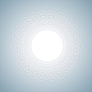 Lace Frame - Vector Background