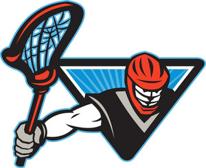 Lacrosse Player Crosse Stick