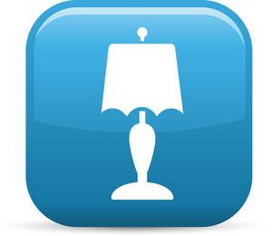 Lamp Elements Glossy Icon