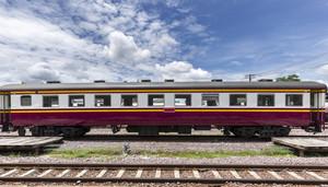 Lampang vintage train. Thailand.