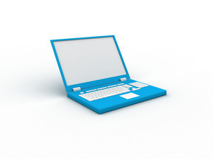 Laptop 3d Illustration