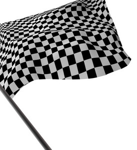 Large Checkered Flag