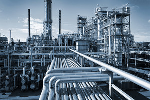 large oil and gas refinery industry