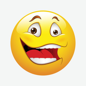 Laughing Vector Smiley