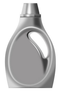 Laundry Bottle Isolated