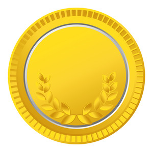 Laurel Wreath Gold Coin