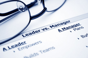 Leader Vs. Manager