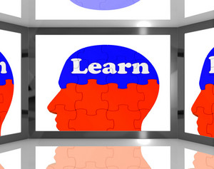 Learn On Brain On Screen Showing Educational Tv Shows