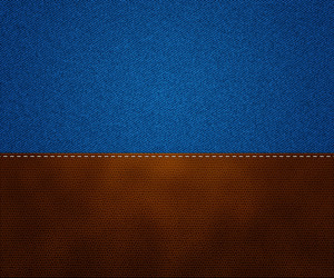 Leather On Jeans Texture