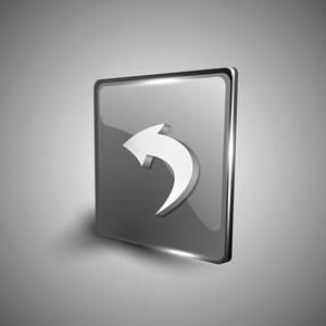 Left Arrow Symbol Icon Set.
