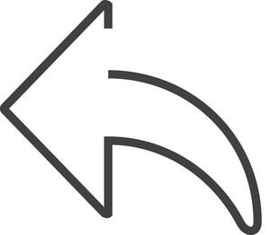 Left Minimal Icon