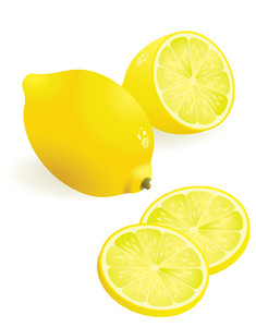 Lemon. Vector. Easy To Edit, No Gradient Meshes Used.