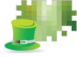 Leprechaun Hat Vector Illustration