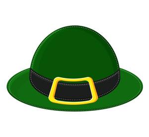 Leprechaun Hat Vector Shape