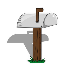 Letterbox Wooden Stand