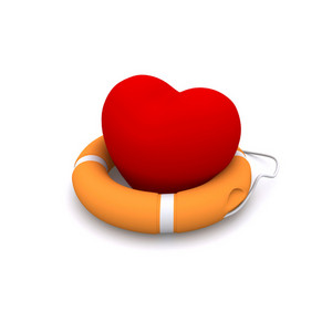 Lifebuoy 3d Render
