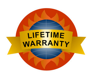 Lifetime Warranty Sign