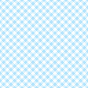Light Blue And White Plaid Pattern