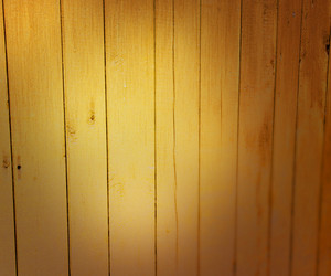 Light On Wooden Wall