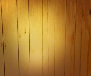 Light On Wooden Wall