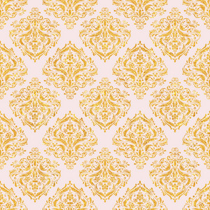 Light Pink And Gold Glitter Decorative Pattern