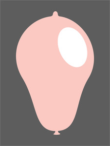 Light Pink Balloon