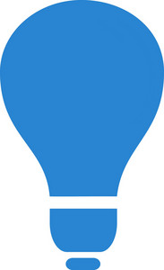 Lightbulb Simplicity Icon