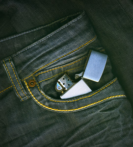 Lighter In A Pocket