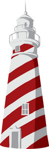 Lighthouse Vector Element