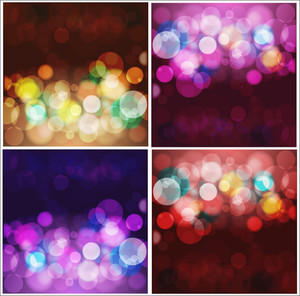 Lights Backgrounds Vectors