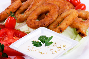 Calamari Rings And Sauce