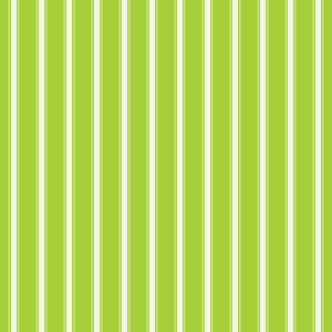 Lime Green And White Striped Pattern