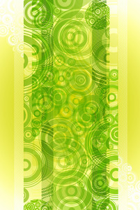 Lime Green Circle Background