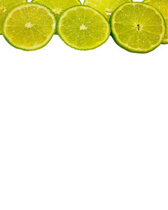 Lime Slices Banner